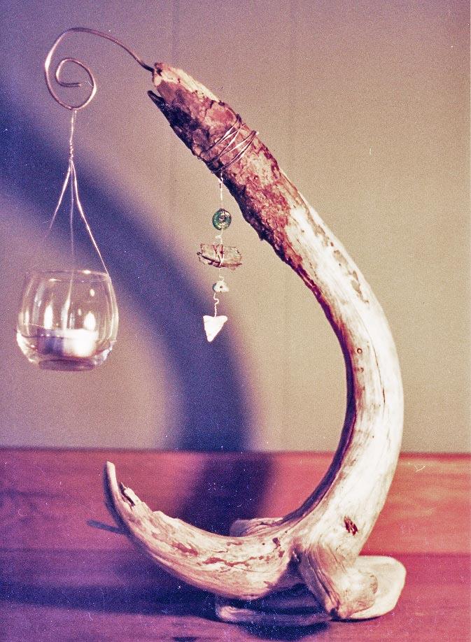 driftwood-candel-holder